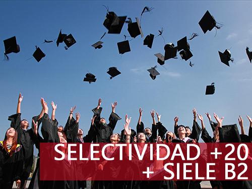 Cursos de selectividad y español para extranjeros - Selectividad +20 + SIELE B2