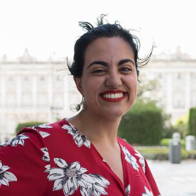 Profesora de clases de español para extranjeros - Patricia Loma