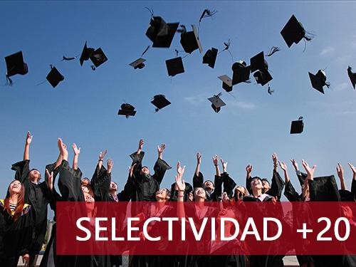 Cursos de selectividad y español para extranjeros - Selectividad +20