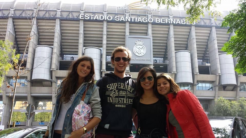 Actividades extraacadémicas - Estadio Santiago Bernabeu
