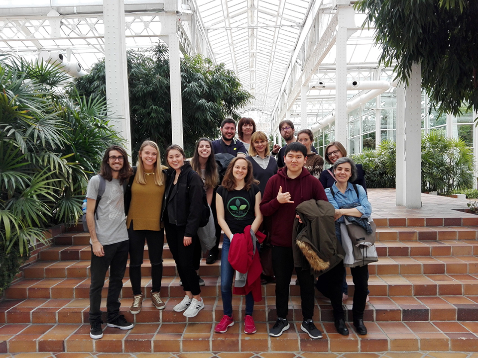 Actividades extraacadémicas - Jardín Botánico