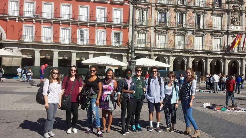 Actividades extraacadémicas - Visita a la Plaza Mayor