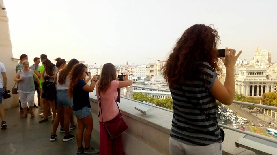 Actividades extraacadémicas - Vistas panoramicas de Madrid